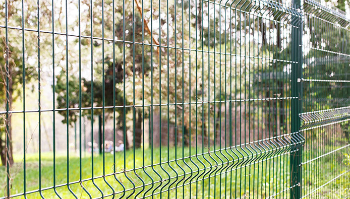 clôture simple
